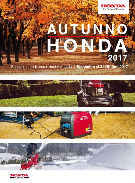 Offerte honda autunno 2017